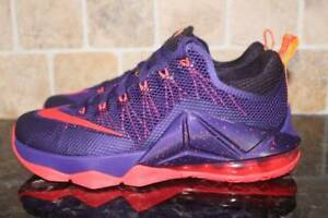 competitive price 9f707 e92e5 Image is loading NIKE-LEBRON-XII-12-LOW-MEN-SIZE-8-
