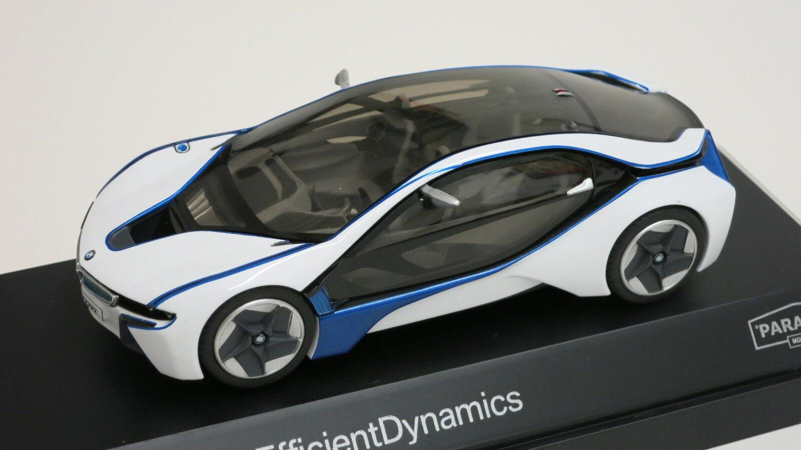 Paragon 1 43 BMW Vision Efficient Dynamics EV Diecast Replica voiture 91021