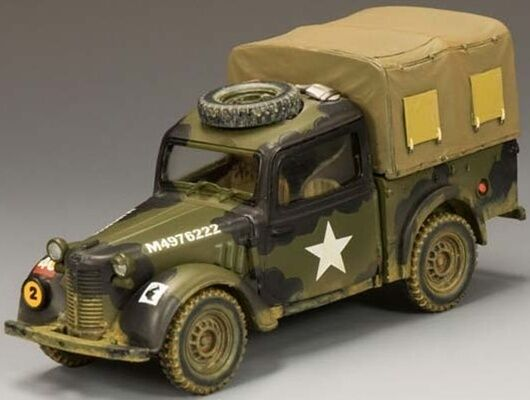 KING & COUNTRY D DAY DD146 U.S. AUSTIN LIGHT UTILITY NORMANDY VERSION MIB