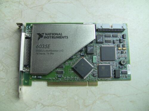 16 bit Analog Input National Instruments PCI-6035E NI DAQ Card Multifunction