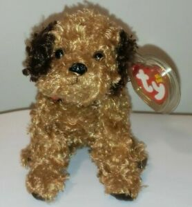 Ty Beanie Baby - TUNNELS the Dog (5.5 Inch) MINT with MINT TAGS