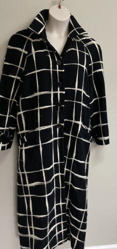 Rare• Vintage• Enrico Coveri Wool Coat Overcoat wi