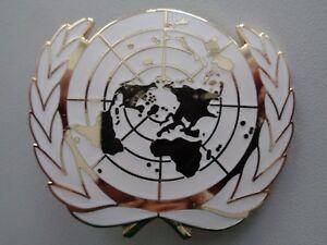 (A25-16) UN Abzeichen für Barett Einsatz Militär