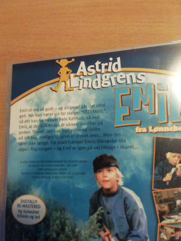 Emil fra Lønneberg, DVD, familiefilm