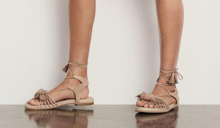 398 size 10 Stuart Weitzman Flowerpot Cashew Suede Gladiator Sandals shoes