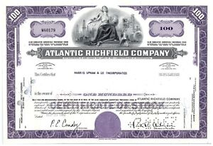 Atlantic-Richfield-Company-Stock-Certificate-100-Shares