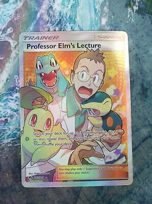 Uncommon Trainer Pokemon NM 4x Professor Elm/'s Lecture 188//214 Lost Thunder