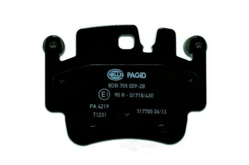 OE Formulated Friction Material Front,Rear Hella-PAGID Disc Brake Pad Set-OEM