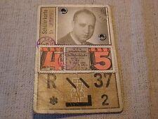 Schülerkarte Wiener Verkehrsbetriebe 1957/58