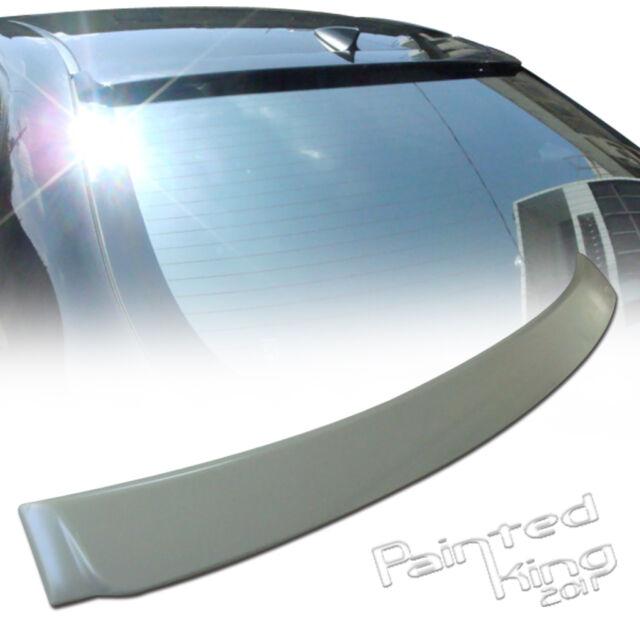 08-13 Fit For Toyota Corolla ALTIS 10th 4D Sedan Rear Roof Spoiler Wing Unpaint