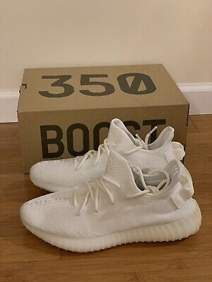 "Adidas Yeezy Boost 350 V2 /""Cream//Triple White/"" CP9366 Kanye West Shoes 100/%Legit"
