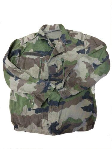 Vintage Armée Veste Femme Militaire Rétro Camouflage /& redyed français F2 Taille 8-18