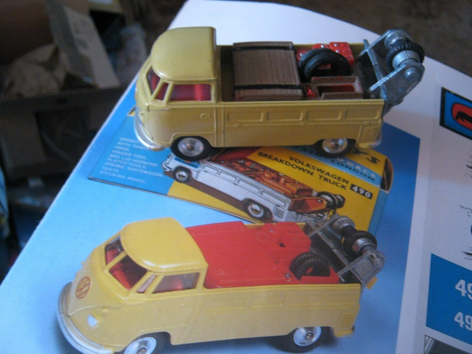CORGI 490 VOLKSWAGON BREAKDOWN    REALLY EXCELLENTORIGINAL  IN VERY GOOD REPRO BOX c7976d