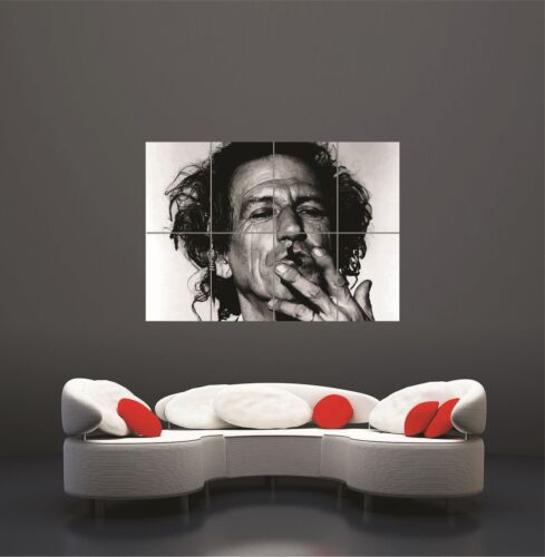 Keith Richards Rolling Music Stones Giant Poster Art