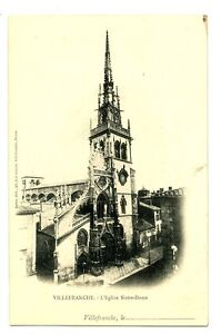 CPA 69 Rhône Villefranche-sur-Saône L'Eglise Notre-Dame