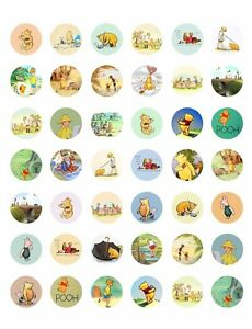 image regarding Printable Bottlecap Images named Info around Common Winnie the Pooh Buddies Printable Bottle Cap Visuals~ 42 Diff. Types