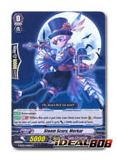 Cardfight Vanguard  x 4 Steam Scara, Merkar - G-BT05/100EN - C Mint