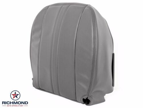 Driver Side Bottom Vinyl Seat Cover Gray 2003-2016 GMC Savana Cargo Van Diesel