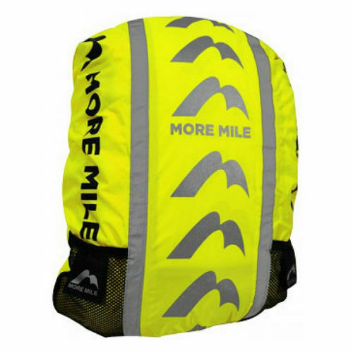 More Mile High Viz Waterproof Cycling Running Hiking Backpack Rain Cover *NEW*