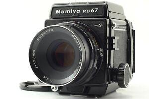 NearMint-Mamiya-RB67-PRO-S-con-Sekor-C-F3-8-127mm-Obiettivo-120-Filmback-dal-Giappone