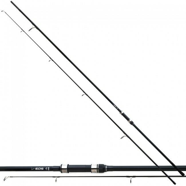 Fox Fox Fox NEW 2x EOS Carp Fishing Rods 2 Piece 12ft 3lb + 2x EOS 10000 Reels - CRD254 149c19