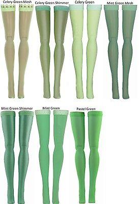 Jem Poppy Parker Light Green Doll Stockings for Integrity Toys Fashion Royalty