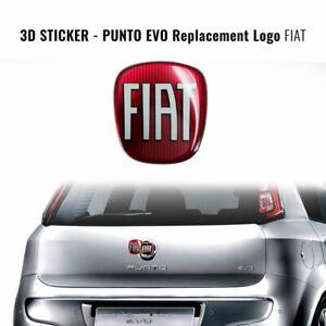 Adesivo-Fiat-3D-Ricambio-Logo-per-Punto-Evo