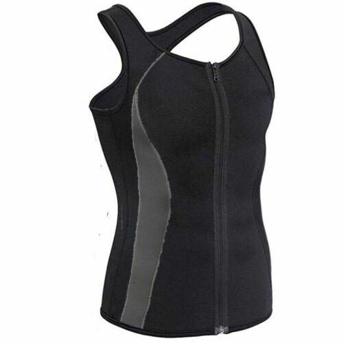 Men Neoprene Sauna Vest Sweat Shirt Fat burning Body Shaper Gym Training Top Hot