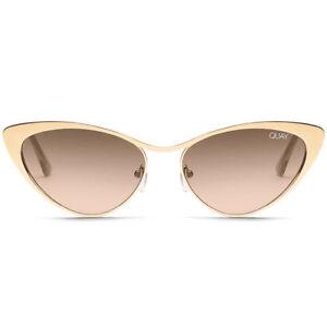fd8862e57e991 Quay Australia X Alissa Violet Boss Sunglasses Gold / Brown - out Hot