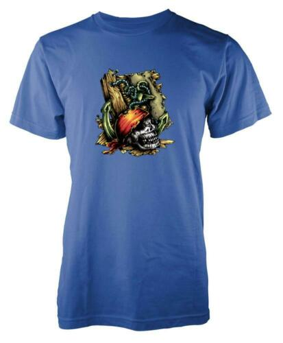 Pirate Skull Bandana Chest Kids T Shirt