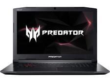 """Acer Predator Corei7 8750H 16GB RAM 1TB HDD 256GB SSD GTX 1060 6GB 17.3"""" FHD W10"""
