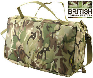 Army Combat Military First Aid PLCE Medic Side Pouch Kit Bag British Medical BTP