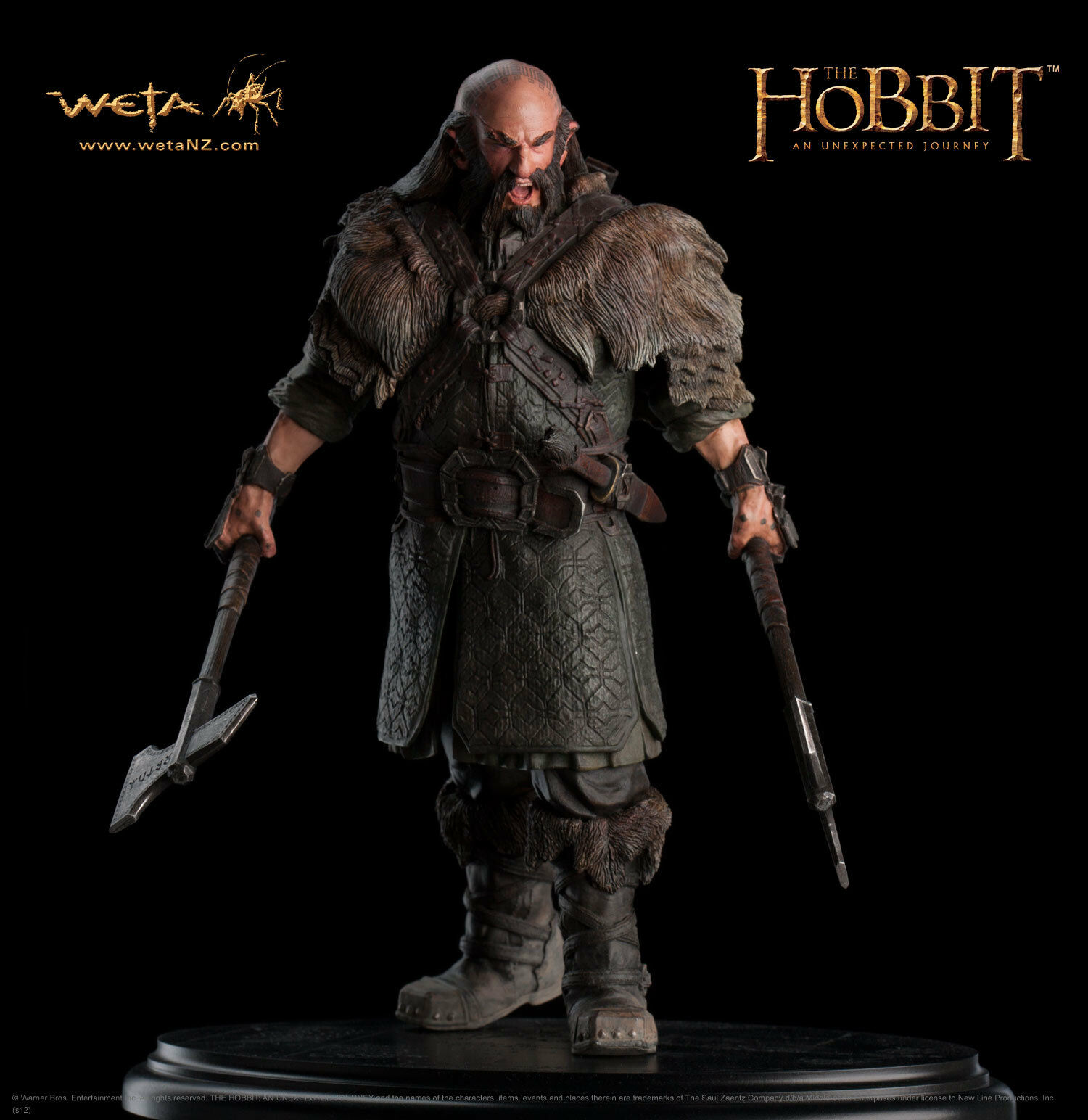 THE HOBBIT DWALIN SIXTH SCALE 1 6 STATUE BY WETA
