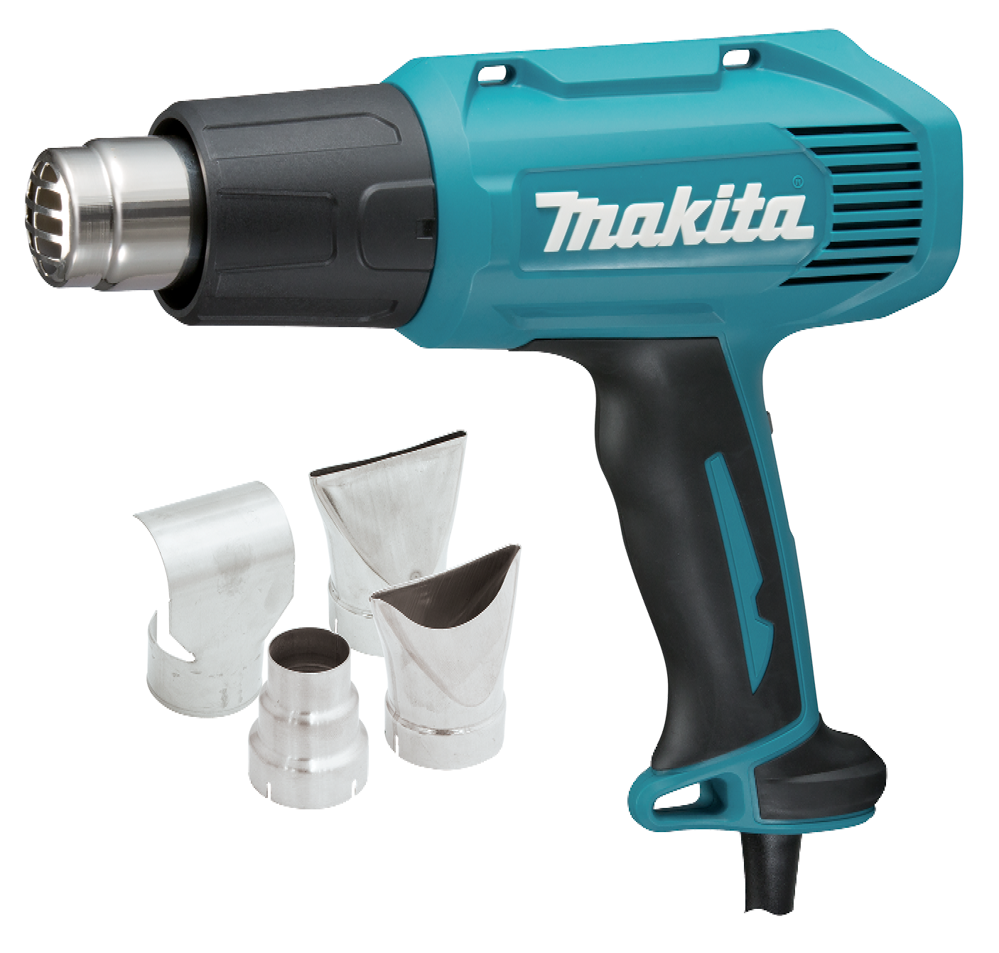 Makita Makita Makita HEAT GUN KIT WITH ACCESSORIES HG6030KIT 1800W 600°C Slide Switch c5a281