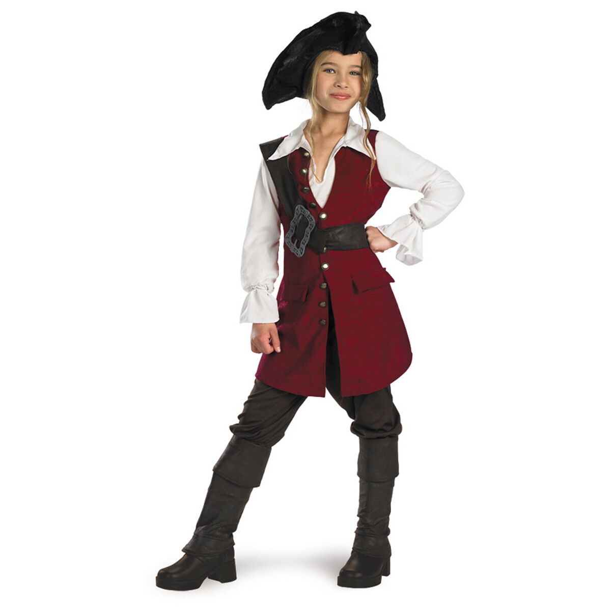Pirates of the Caribbean - Elizabeth Swann Deluxe Child Costume