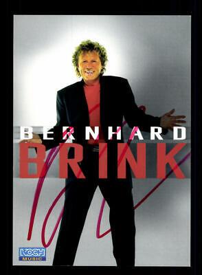 Musik Bernhard Brink Autogrammkarte Original Signiert ## Bc 147001