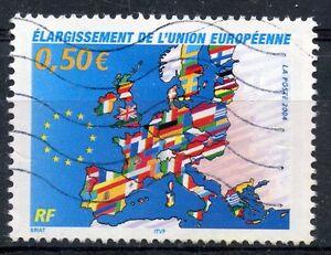 Copieux Stamp / Timbre France Oblitere N° 3666 Elargissement De L'union Europeenne