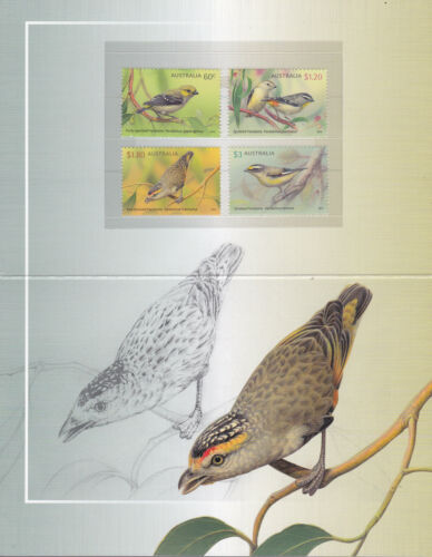 2013 Australian Pardalotes Post Office Pack