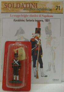 Soldatini-Napoleonici-in-piombo-034-KARABINIER-fanteria-leggera-1801-034-mm-54-c-fas