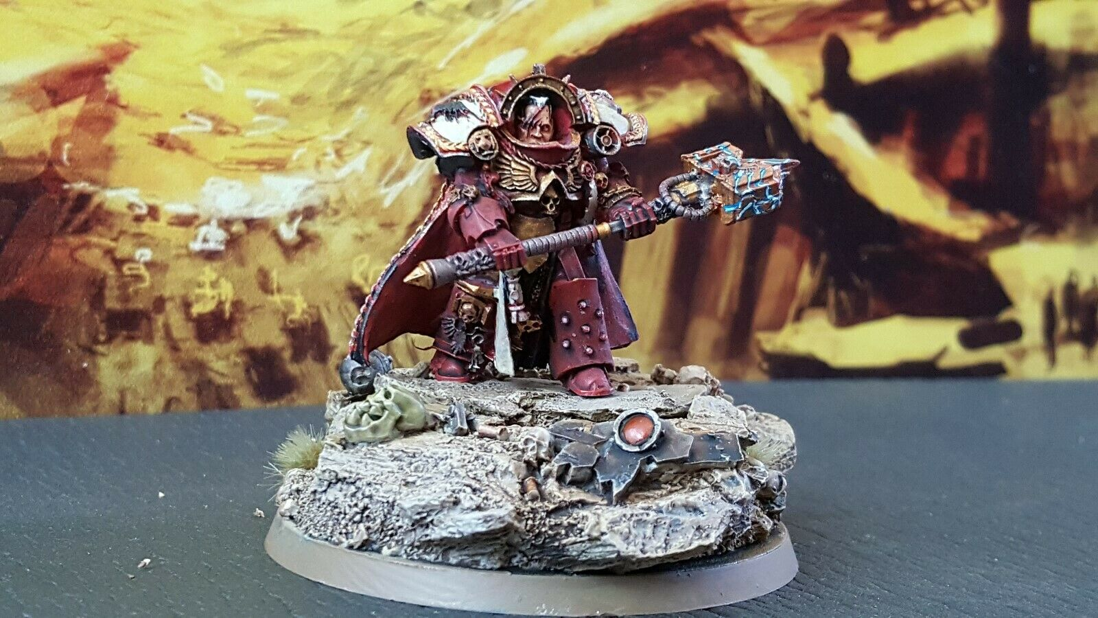 Forge world Gabriel Angelos blood ravens space marine  pro painted made to order