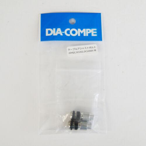 DIA-COMPE 202 Cable Adjust Bolt for GC202H//GC202//GC202Q//DC204QC 2 pcs