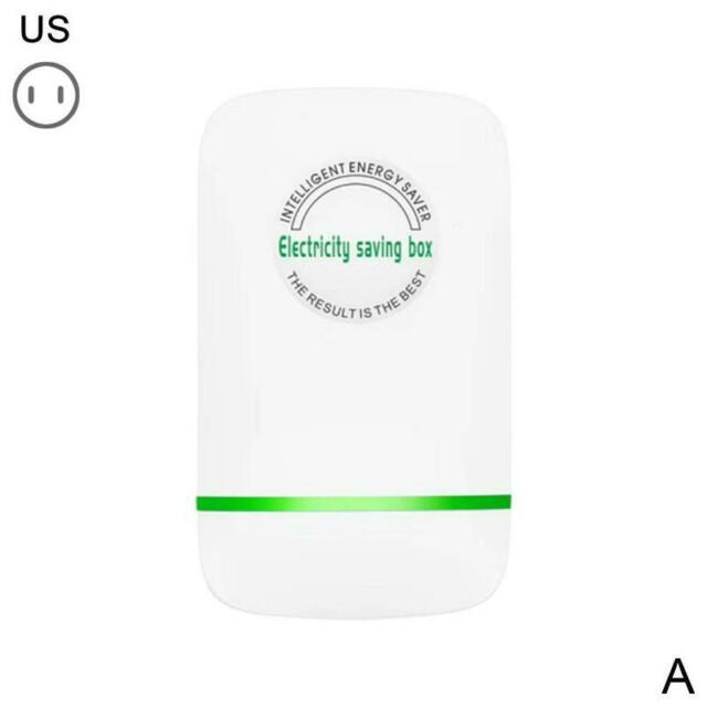 Smart Power Energy Electricity Saving Box Household Home Electric US//EU//UK Plug