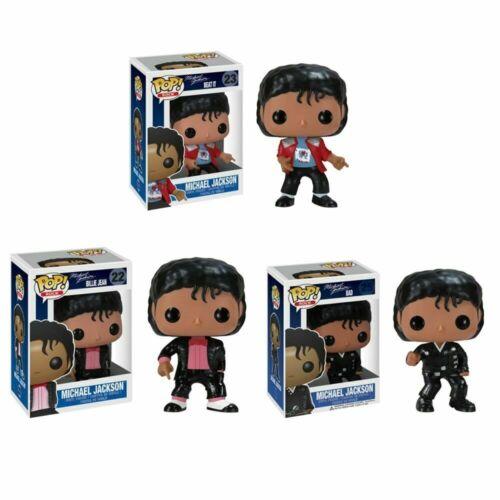 Funko POP UK Michael Jackson Beat It MUSICA VINILE ACTION FIGURE TOYS IN SCATOLA REGALO