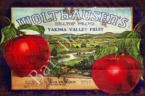 Fresh Farm Eggs Vintage Metal Tin Signs Retro Fruits Plate Art Wall Decor Poster