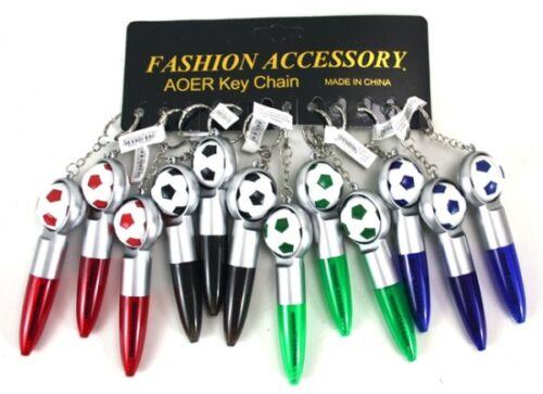 Schlüsselanhänger Kugler Stift Kugelschreiber mit Fußball Ball