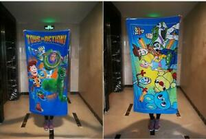 toy-story-Woody-Buzz-Bath-Towels-Cotton-Beach-Towel-Washcloth-Unisex-NEW