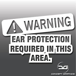 Warning-Loud-Exhaust-Funny-Novelty-Car-Vinyl-Decal-Sticker-JDM-Euro-DUB