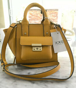 NWT-3-1-Phillip-Lim-For-Target-Mini-Satchel-Mustard-Yellow-Handbag-Sold-Out
