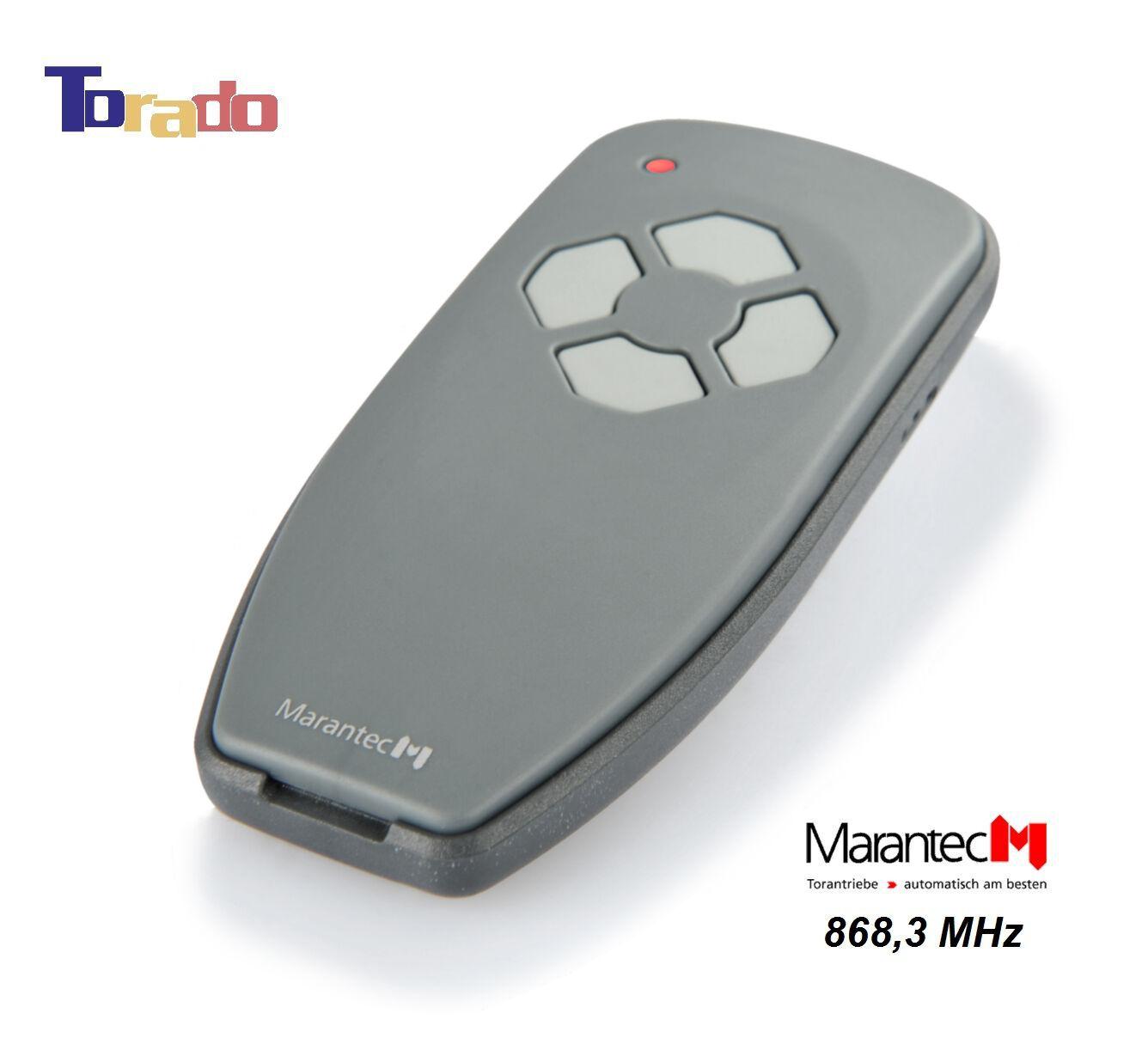Marantec Digital 304 Handsender 384 mit 433 MHz Funksender Funk Tor Teckentrup