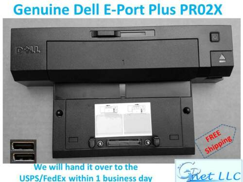 Genuine Dell Docking Station Replicator E Port Plus PR02X